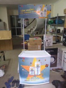 booth sampling nhựa